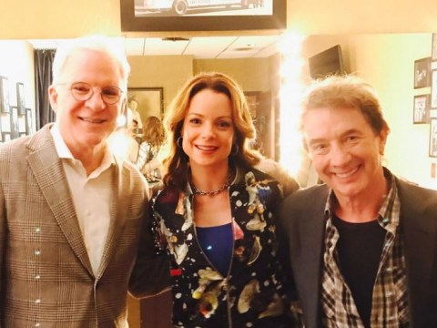 Steve Martin reunites with his Father Of The Bride daughter – and Franck Eggelhoffer is there too