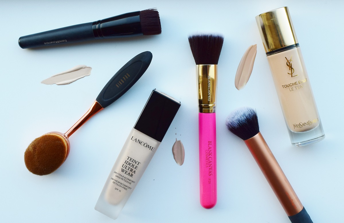 5 foundation brushes you need to achieve flawless skin