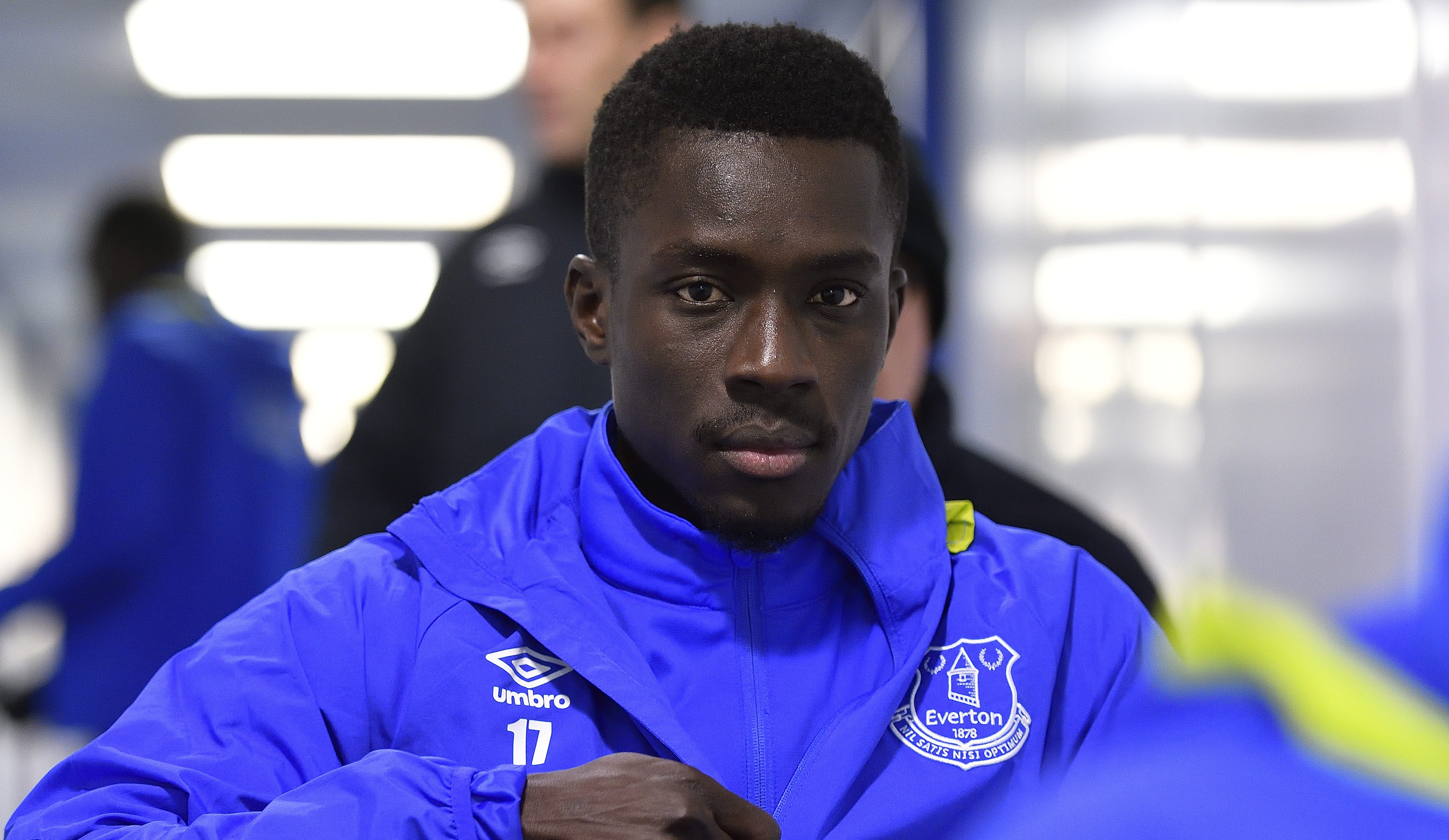 LIVERPOOL, ENGLAND - DECEMBER 4: Idrissa Gueye of Everton before the Barclays Premier League match between Everton and Manchester United at Goodison Park on December 4, 2016 in Liverpool, England. (Photo by Tony McArdle/Everton FC via Getty Images)