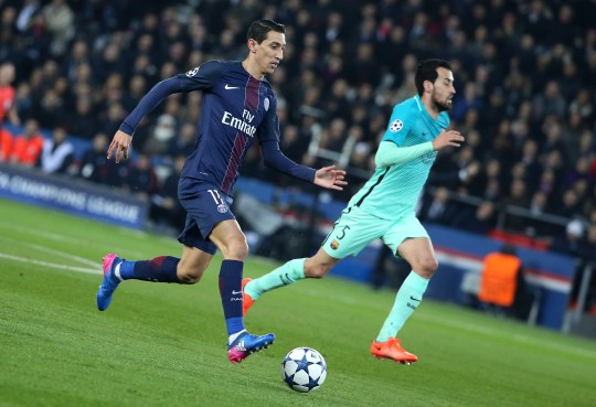 Barcelona vs PSG: Barca consider bid for Angel Di Maria this summer