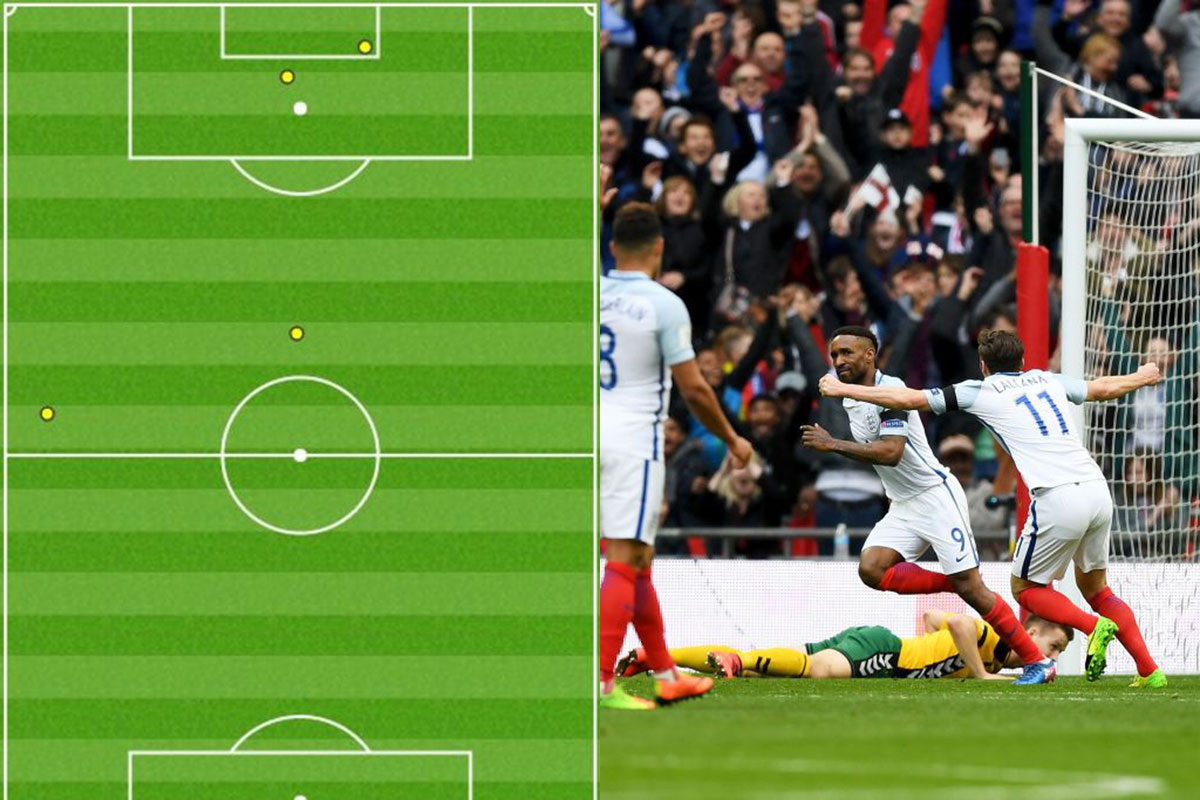 The graphic that shows just how lethal England striker Jermain Defoe is