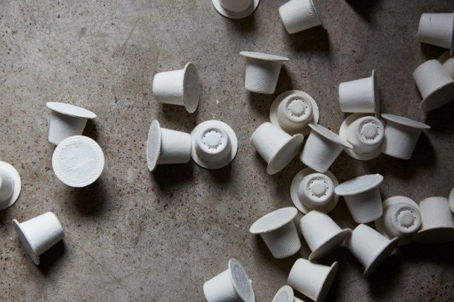 Halo coffee capsules