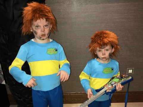 From Katie Price to Wayne Rooney: How celebs dressed their kids up for World Book Day