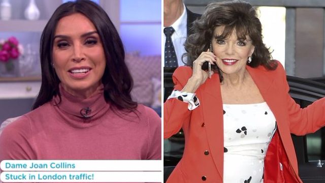 Dame Joan Collins misses studio interview on Lorraine after getting stuck in traffic