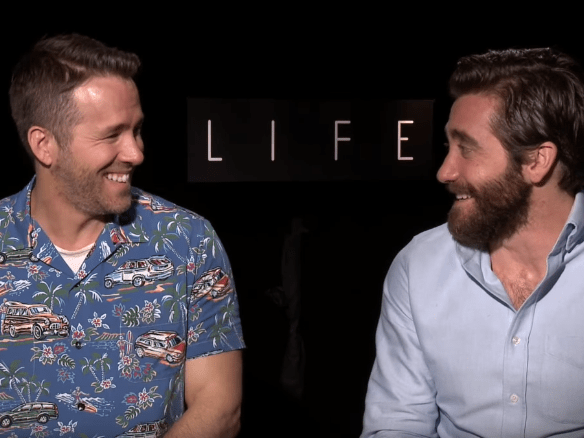 WATCH: This Ryan Reynolds and Jake Gyllenhaal interview goes totally off the rails