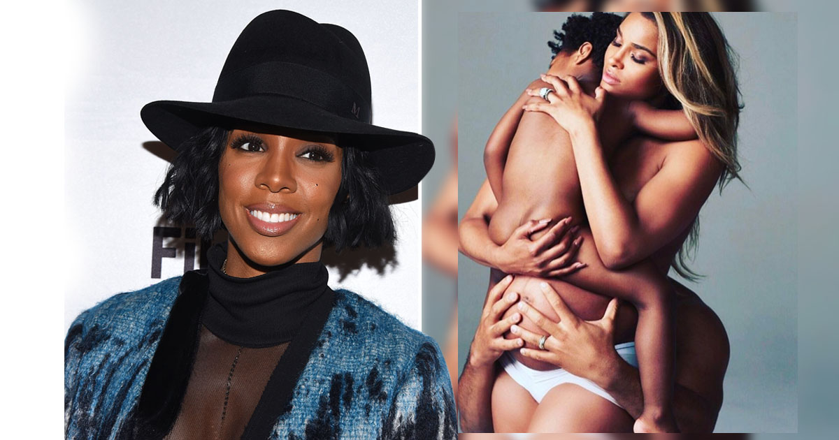Kelly Rowland defends 'liking' a critique of Ciara's maternity shoot on Instagram