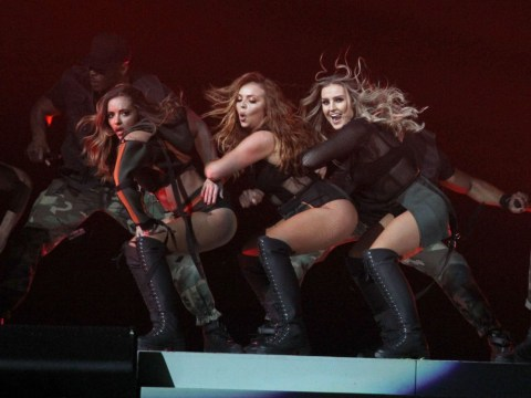 Little Mix's Leigh-Anne performs gig despite nasty burn injuries on her legs