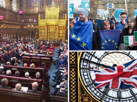 Government suffers second Brexit defeat in House of Lords