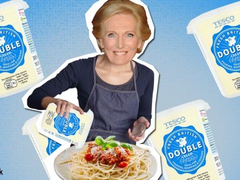 Mary Berry used double cream in her spaghetti bolognese recipe and it's freaked everyone out