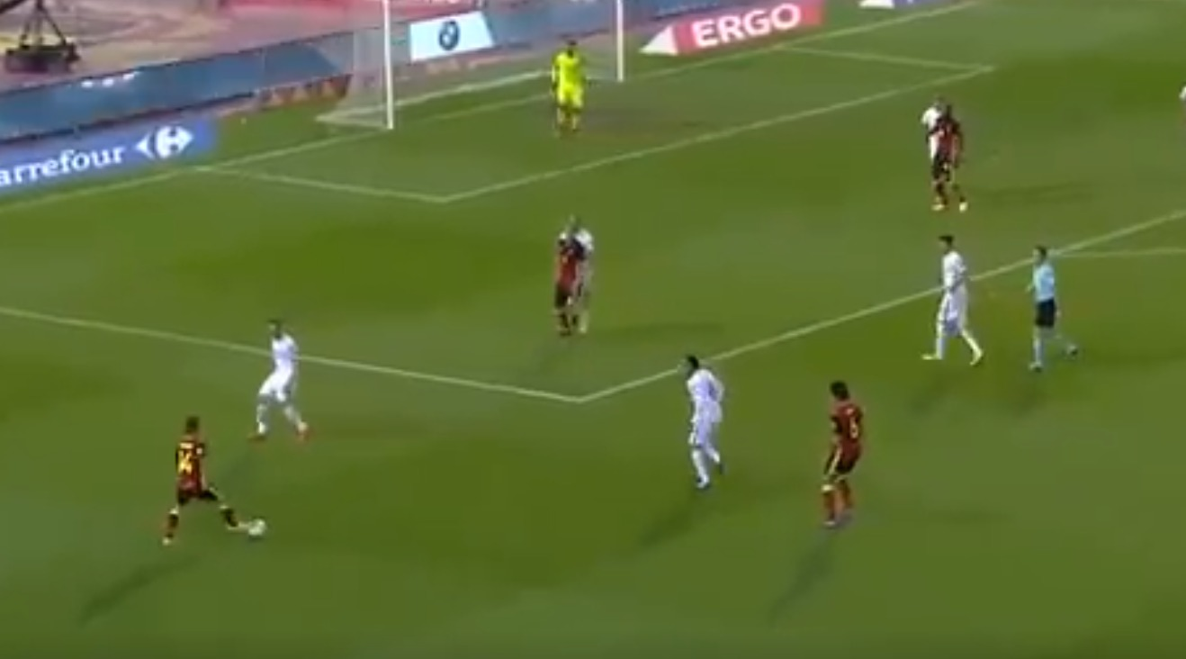 Chelsea target Dries Mertens whips in inch-perfect cross as Romelu Lukaku finds equaliser for Belgium against Greece
