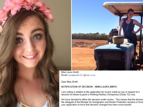 British backpacker says she's being punished for not earning enough money
