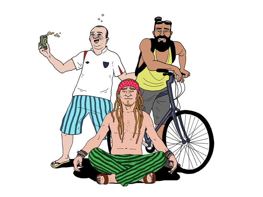 The 13 types of men you meet when you go travelling