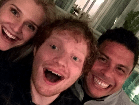 Ed Sheeran's got a lot of celebrity mates and here's who they all