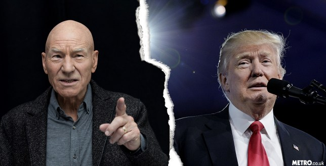 Sir Patrick Stewart is applying for US citizenship to fight Trump (Picture: Rex)