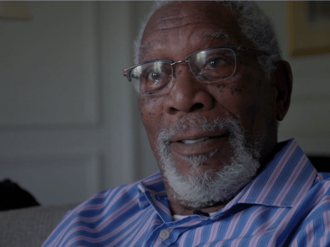 Morgan Freeman says he's too famous to check into hotels, he just 'arrives' apparently