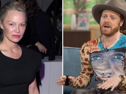 Pamela Anderson 'stormed off' Celebrity Juice after getting upset over an old school picture