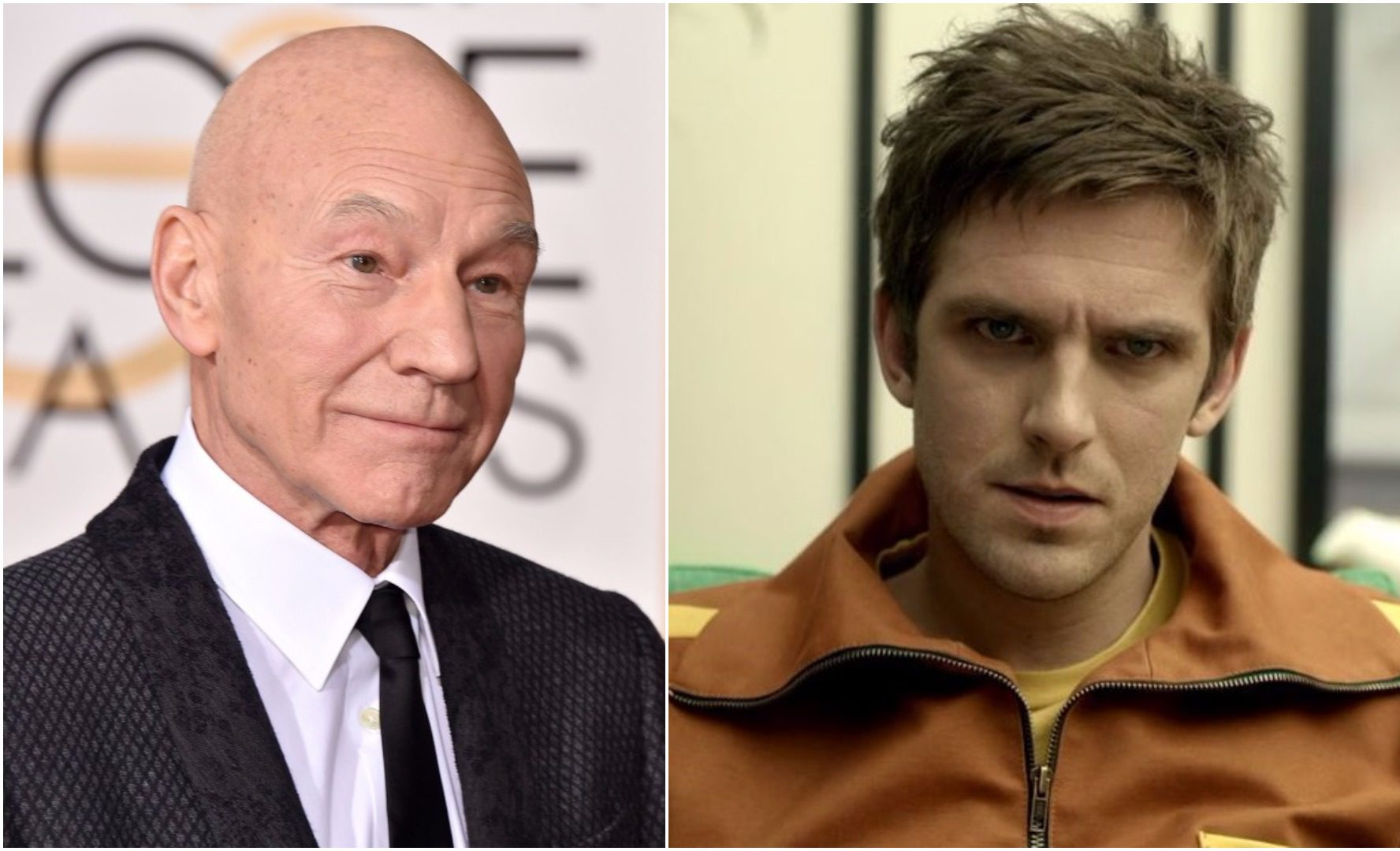 Dan Stevens just asked Sir Patrick Stewart to appear in Legion and please let this happen now