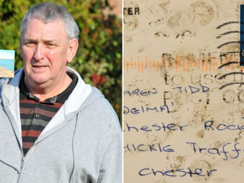 Man receives postcard in the mail 40 years after it was sent