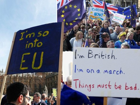 Thousands of Remainers flock to London in 'Unite for Europe' march