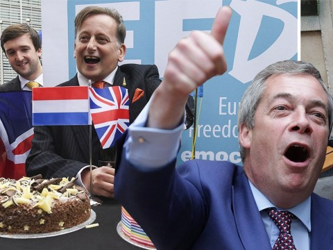 Ukip celebrated the triggering of Article 50 by eating lots of cake