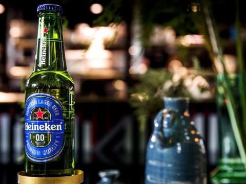 Zero-alcohol Heineken is soon going to hit shelves in the UK