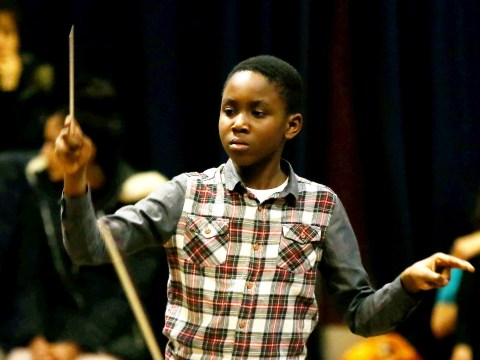 This 11-year-old conductor is set to become the youngest person to lead a 75-piece orchestra
