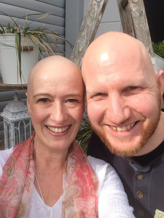 This cancer survivor has been collecting 'Bald Buddies' to