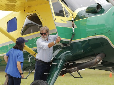 Harrison Ford called himself a 'schmuck' for landing on the wrong runway and narrowly avoiding a jet