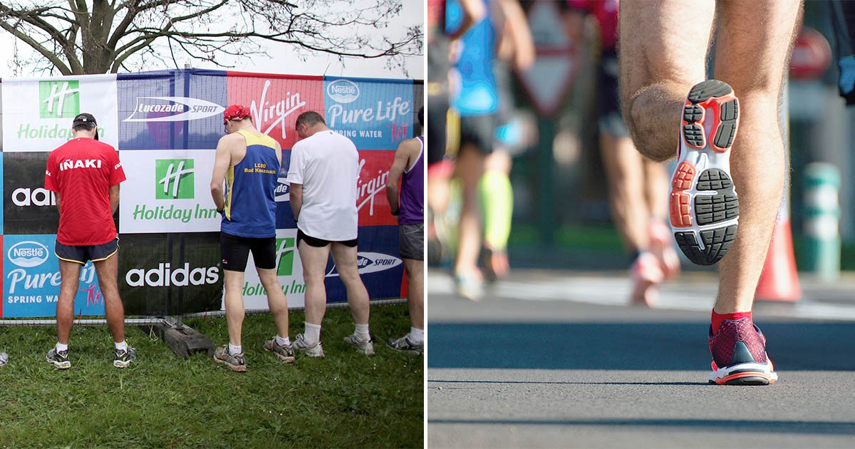 London marathon runners told not to urinate on people's front gardens