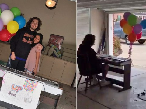 This teenager pulled off the most beautiful 'UP'-themed promposal