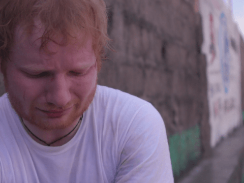 Ed Sheeran breaks down after meeting a young girl who wants to sing with him