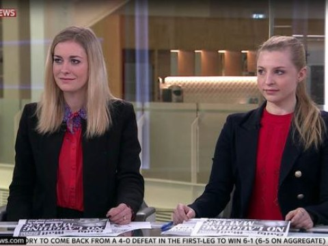 Two Sky News guests turned up in the same outfit and it could have been pretty awkward