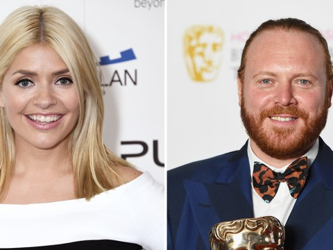 Keith Lemon has a cheeky warning for Holly Willoughby fans: 'Don't look directly into her eyes'