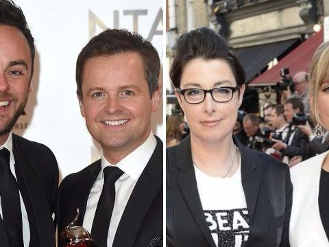 Ant and Dec beat Mel and Sue in the all-important Saturday night ratings battle
