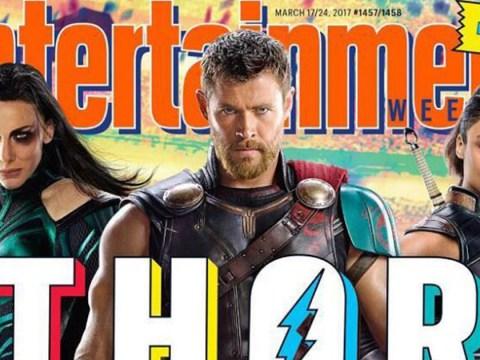 Chris Hemsworth has shaved off his godly locks for Thor: Ragnarok
