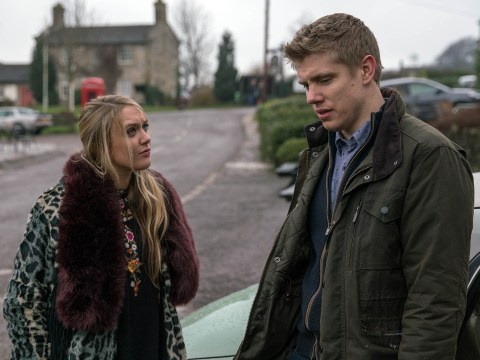 Emmerdale spoilers: Ryan Hawley discusses Robert Sugden and Rebecca White kiss drama