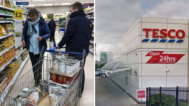 Manager who stopped men buying food for homeless at Tesco 'to work for the charity'