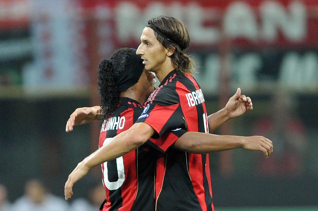 Ronaldinho sends classy message to Zlatan Ibrahimovic after career-threatening knee injury