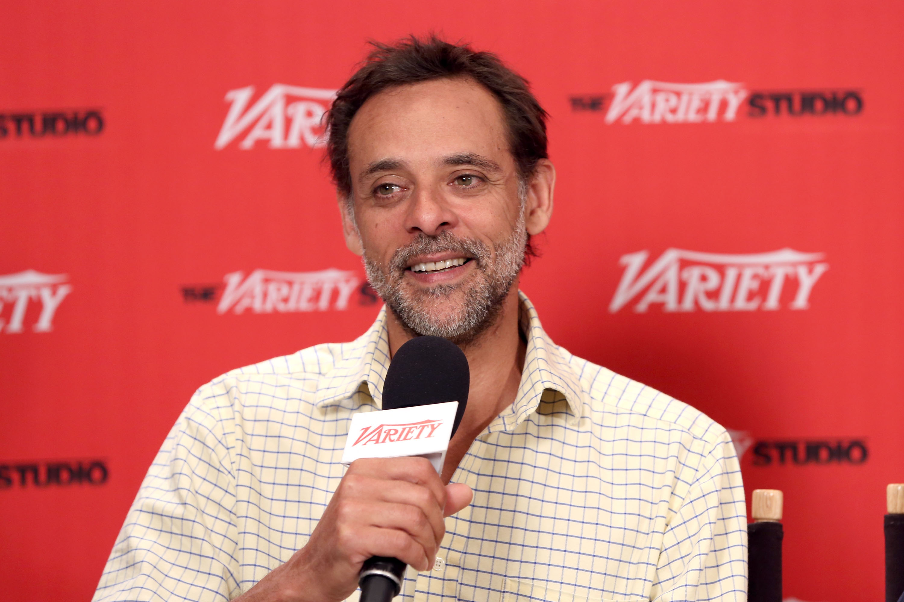 Actor Alexander Siddig would love to star in Doctor Who but says BBC bosses should cast a female lead (Picture: WireImage)