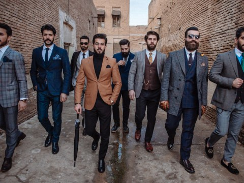 Meet the Iraqi Kurdish men inspiring social change through fashion