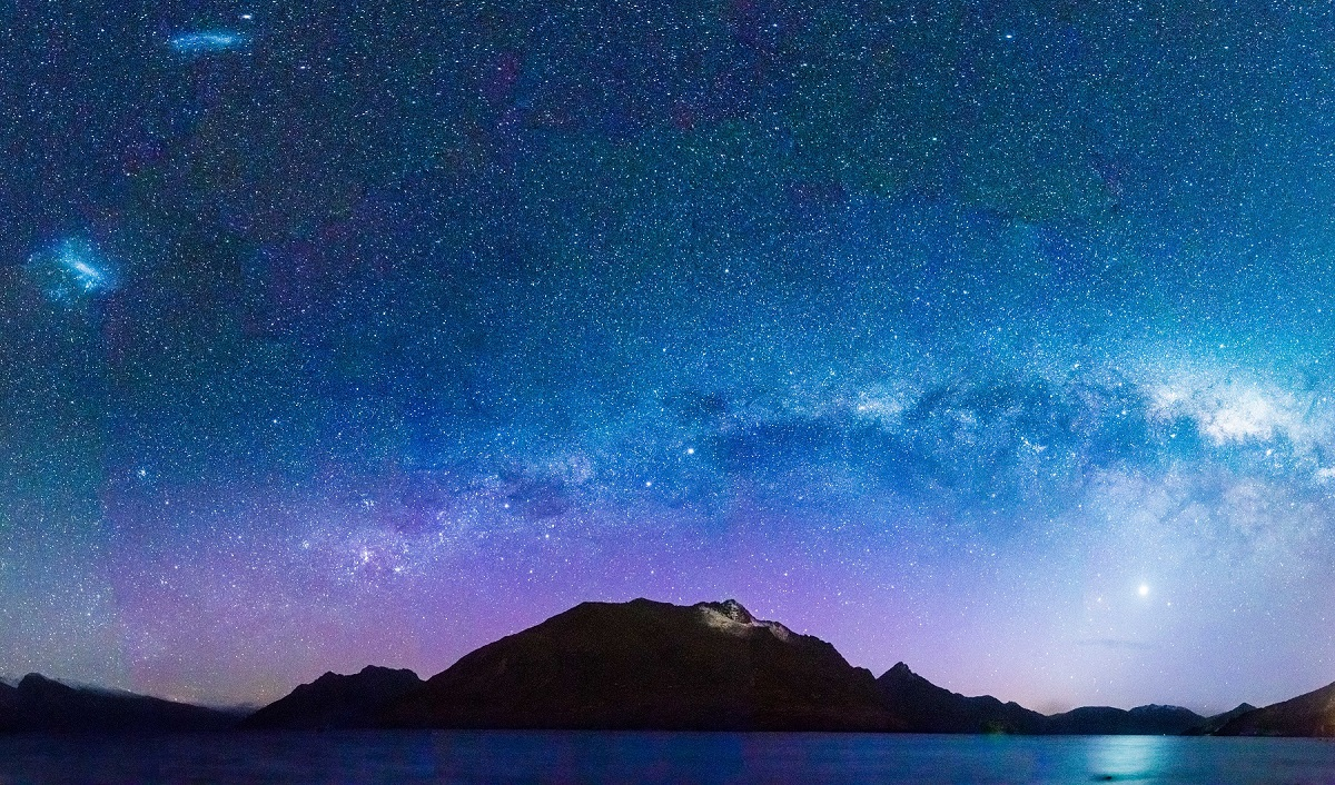 Queenstown stars (Picture: Tamsin Gorman @amongmountainsanlakes)