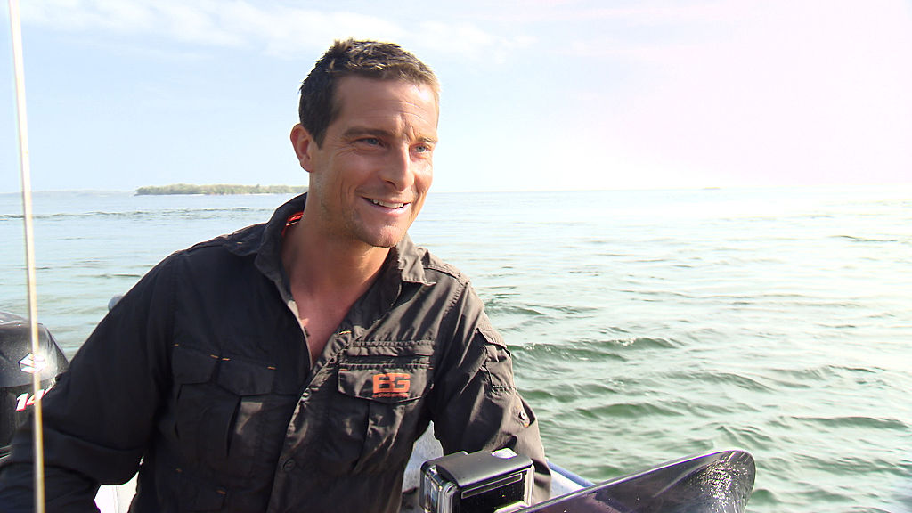 What is Bear Grylls' Celebrity Island and when is it on?