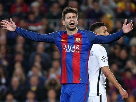 Gerard Pique continues Real Madrid feud by knocking their fans on Twitter