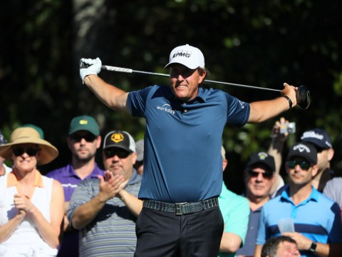 Phil Mickelson accuses his rivals of cheating on the eve of the 2017 Masters