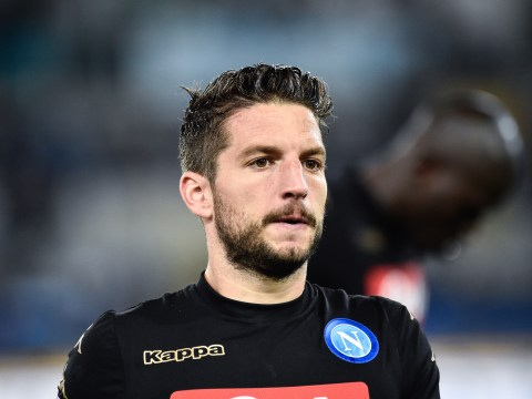 Napoli president explains Manchester United transfer target Dries Mertens' situation