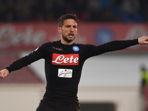 Manchester United transfer target Dries Mertens gets warning from Napoli president