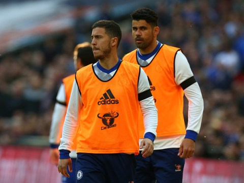 Antonio Conte tells Eden Hazard and Diego Costa they must accept being dropped