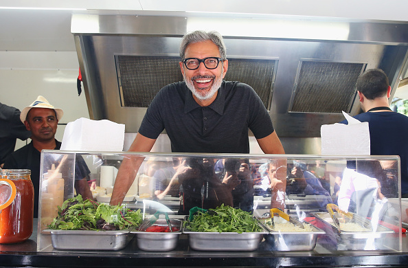 Jeff Goldblum is serving sausages out of a truck and no-one knows what's real anymore