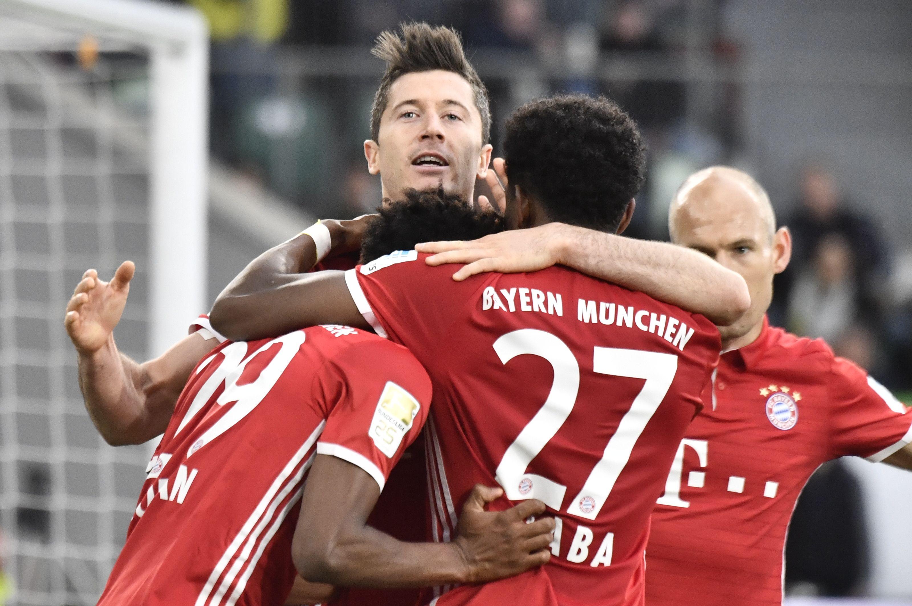 Bayern Munich win Bundesliga title after 6-0 demolition of Wolfsburg