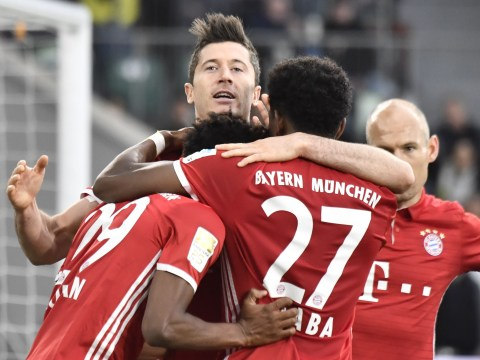 Bayern Munich win Bundesliga title after 6-0 demolition of Wolfsburg